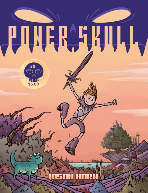 Picture of Power Skull issue one